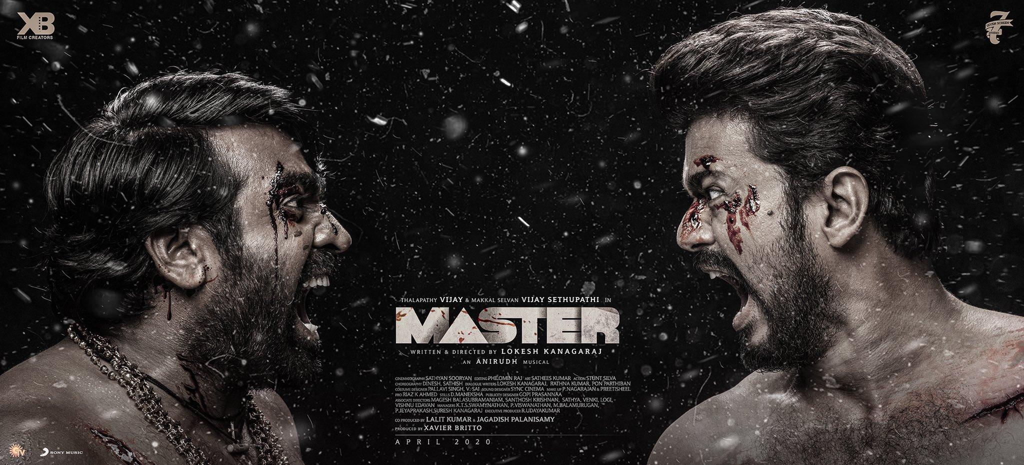 Master Official Poster Third Look